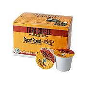 Fara Coffee Decaf Roast Single Serve Cups