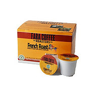 Fara Coffee French Roast Single Serve Coffee K Cups