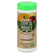 Farm To Market Natural Oatmeal & Baking Soda Sensitive Wipes