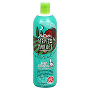 Farm To Market Natural Shed Control Pet Shampoo