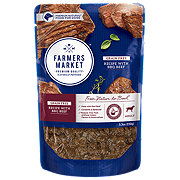 Farmers Market Grain Free Recipe with BBQ Beef Wet Dog Food