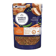 Farmers Market Roast Chicken with Carrots & Peas Recipe Wet Dog Food