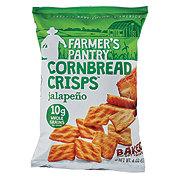 Farmers Pantry Cornbread Crisps Jalapeno