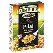 Farmhouse Rice Pilaf with Garden Vegetables