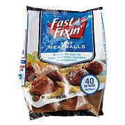 Fast Fixin Beef Meatballs