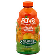 Fave Orange Tangerine Pineapple Fruit & Vegetable Juice