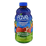 Fave Pomegranate Blueberry Goji Fruit & Vegetable Juice