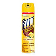 Favor Fresh Lemon Scent Brilliant Shine Furniture Polish Spray