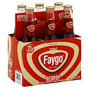 Faygo Redpop Soda Six Pack