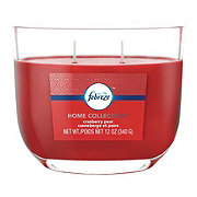 Febreze Home Collection Cranberry Pear Dual Wick Candle