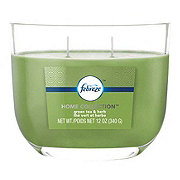 Febreze Home Collection Green Tea & Herb Dual Wick Candle
