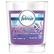 Febreze Mediterranean Lavender Candle