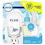 Febreze Plug Linen & Sky Scented Oil & Plug-In Warmer