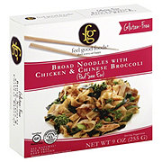 Feel Good Foods Gluten Free Broad Noodles Chicken and Chinese Broccoli