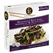 Feel Good Foods Gluten Free Mongolian Beef with Asparagus and Scallions