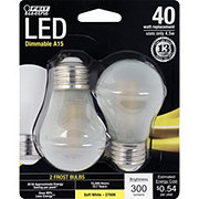 FEIT ELECTRIC 300 Lumen 2700K Dimmable Frost A15 LED
