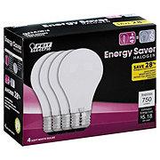 Feit Electric A19 60W Halogen White Bulbs