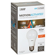 Feit Electric A19 LED 40 Watt Soft White Motion Activated