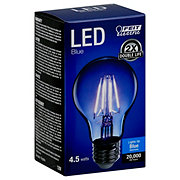 FEIT ELECTRIC A19 LED Filament Blue Light Bulb