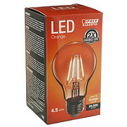 FEIT ELECTRIC A19 LED Orange Bulb Non Dimmable