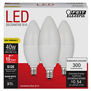 Feit Electric B10 40 Watt LED Warm White Light Bulb