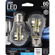 FEIT ELECTRIC LED A15 Filament 60 Watt Daylight Clear