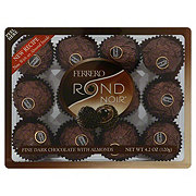 Ferrero Rocher Rondnoir Fine Dark Chocolate With Almonds Shop