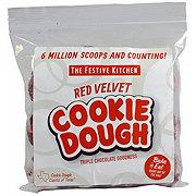 Festive Kitchen Red Velvet Cookie Dough Balls