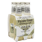 Fever Tree Light Ginger Beer 6.8 oz Bottles