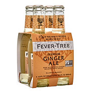 Fever Tree Premium Ginger Ale 6.8 oz Bottles
