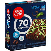 Fiber One 90 Calorie Brownies Mint Fudge
