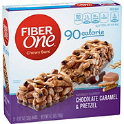 Fiber One 90 Calorie Chocolate Caramel and Pretzel Chewy Bars