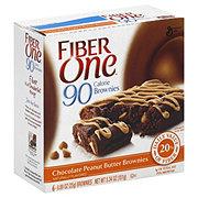 Fiber One 90 Calorie Chocolate Peanut Butter Brownies