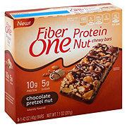 Fiber One Protein Nut Bars Chocolate Pretzel Nut