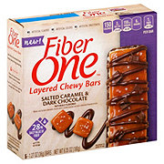 Fiber One Salted Caramel Dark Chocolate Layered Chewy Bars