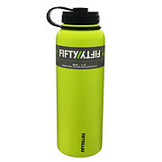 Fifty Fifty Double Wall Vacuum Insulated Water Bottle, Lime Green