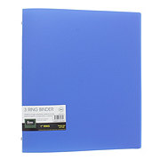 Filexec Products 1 Inch Poly Binder With Pocket, Assorted Colors