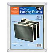 Find It Green Letter Hanging Folders