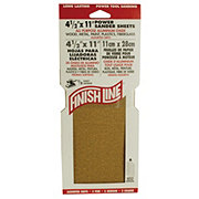 Finish Line 4.5x11 in Assorted Grit Sandpaper Sheets