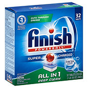 Finish Powerball Fresh Scent All In 1 Automatic Dishwasher Detergent Tabs