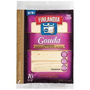 Finlandia Imported Gouda Cheese Sandwich Slices