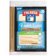 Finlandia Imported Premium Light Swiss Cheese Slices
