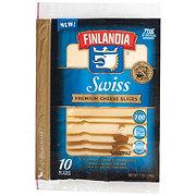 Finlandia Imported Premium Swiss Cheese Slices