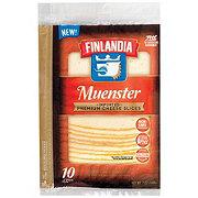 Finlandia Natural Deli Slices Imported Muenster Cheese