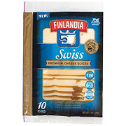 Finlandia Sandwich Naturals Imported Swiss Cheese Slices