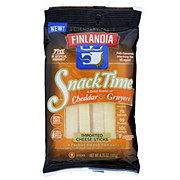 Finlandia Snack Time Cheddar and Gruyere Cheese Sticks