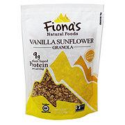 Fiona's Gluten Free Vanilla Sunflower Granola