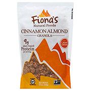 Fionas Natural Foods Gluten Free Cinnamon Almond Granola