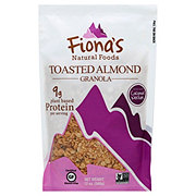 Fionas Natural Foods Gluten Free Toasted Almond Granola