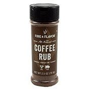 Fire & Flavor Coffee Rub
